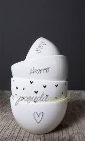 Керамический <b>салатник White Нeart</b> Black 12 см белый серия ...