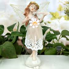 <b>Love</b> music Angel <b>Beautiful Girl Flower</b> fairy Garden wedding Gift ...