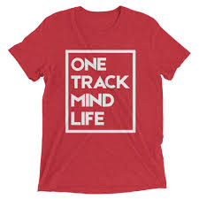 <b>Tri-Blend Graphic Tee</b> | One Track Mind Life Apparel, LLC
