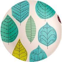 <b>Тарелка</b> EcoWoo <b>Leaves</b> обеденная <b>25</b>,5 см купить с доставкой ...