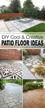 patio floor ideas decorating  diy cool amp creative patio floor ideas o tips and tutorials for grea