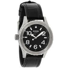 Купить <b>часы Nixon 38-20</b> Quartz Movement Black Dial Men's Watch ...