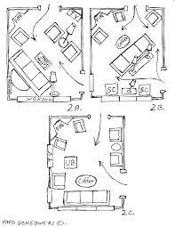 in illustrations arrange living room furniture