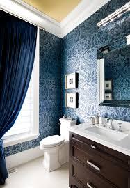 damask sheets powder room traditional with blue velvet curtain blue velvet drapes blue wallpaper damask wallpaper blue home office dark wood
