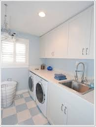 room cute blue ideas:  cute laundry rooms decor ideas with blue and