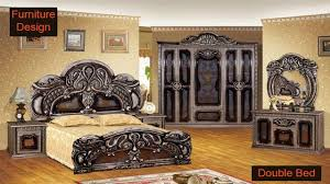 Wooden <b>Double</b> Bed <b>Design</b> For Home In India and Pakistan ...