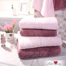 <b>Набор из 4</b>-х <b>полотенец</b> harmonika bamboo цвет: розовый туман ...