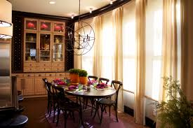 Family Dining Room Vibrant Transitional Family Home Kitchen Dining Room Robeson Design