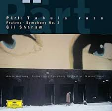 "<b>Shaham</b>/Jarvi/Goteborgs Symfoniker - <b>Arvo</b> P""rt: Fratres / Tabula ..."
