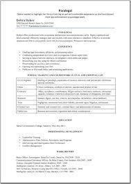 paralegal resume template   great resume templatesparalegal