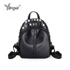 <b>YBYT</b> brand 2018 <b>new</b> preppy <b>style</b> sequined rivet <b>women</b> rucksack ...