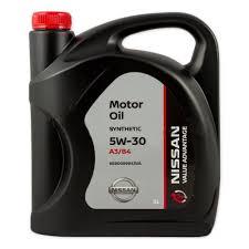 <b>Моторное масло NISSAN</b> VA <b>Motor Oil</b> 5W-30 синтетическое, 5 л ...