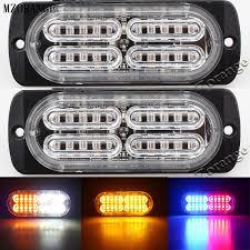 <b>MZORANGE 2Pcs</b> / Pair Ultra thin High Power <b>12V</b> 24V 20 LED <b>Car</b> ...