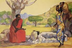 Image result for images: A Samaritan woman came to draw water
