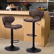 Barstools - Brown / Barstools / Home Bar Furniture ... - Amazon.com