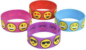 DDI 2191634 Emoji <b>Silicone Band Bracelet</b>- Buy Online in Cayman ...