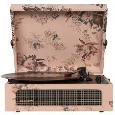 Купить <b>Виниловый проигрыватель Crosley Voyager</b>, Floral ...