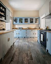 painted kitchen cabinet ideas freshome blue cabinet kitchen lighting