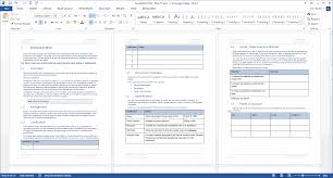 availability plan ms word template introduction to the availability plan background justification goals and points of contact