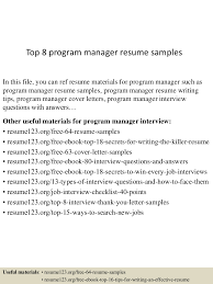 topprogrammanagerresumesamples conversion gate thumbnail jpg cb