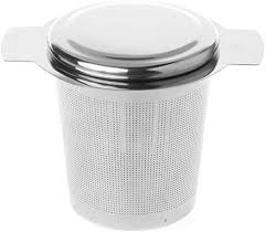 <b>Tea Infuser</b> Stainless Steel Fine <b>Mesh</b> Filter <b>Reusable</b> Strainer ...