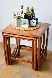crank desk orange table