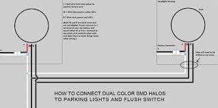advanced automotive concepts halo wiring faq dual color smd halos parking lights