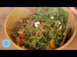 Vegetable Pasta Salad with Lemon Juice - Martha Stewart - YouTube
