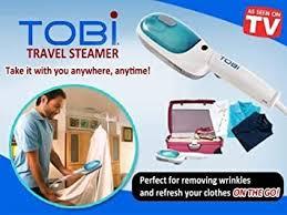 Goreal <b>Mini Portable Handheld</b> Garment Steamer and Sterilizer(White)
