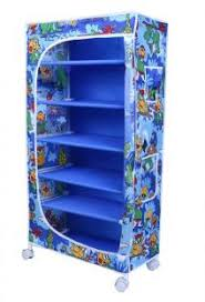 <b>Little One</b> S 6 Shelves Powder Coated <b>Carbon Steel</b> Collapsible ...