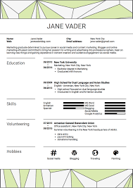 how to write a great resume even if you have no experience sample here s a sample of what an entry level resume can look like