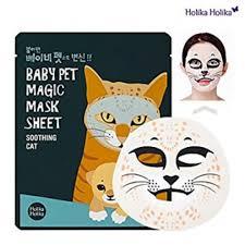 Holika Holika Baby Pet Magic Mask Sheet Soothing <b>Cat</b> ...
