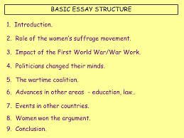 woman suffrage essay  wwwgxartorg the right to vote essay essay topicsbasic essay structure introduction role of the women s suffrage