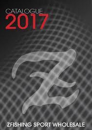 Catalogue2017 by Zfishing Sport - issuu