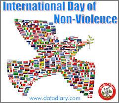 short essay on gandhi jayanti  data diary international day of non violence