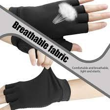 Pandamama <b>Copper Fiber</b> Half Finger Joint Recovery Health ...