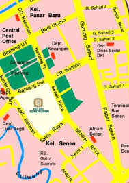 peta hotel borobudur jakarta: Hotel borobudur jakarta indonesia free n easy travel hotel