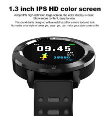<b>CF58 Smart Watch Men</b> Blood Pressure Heart Rate Monitor Swim ...
