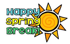 Image result for enjoy your spring break!
