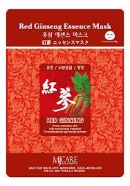 <b>Маска тканевая Красный женьшень</b> MJ Care Red Ginseng ...