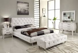 furniture wondrous modern white leather bedroom furniture including queen bed frame with headboard aside brushed aluminum brown leather bedroom furniture