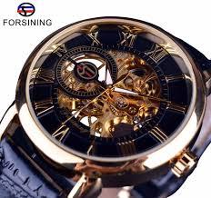 <b>Forsining Men Watches</b> Top Brand Luxury Mechanical Skeleton ...