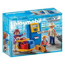 <b>Конструктор PLAYMOBIL</b> 5399 Городской аэропорт. <b>Семья</b> на ...