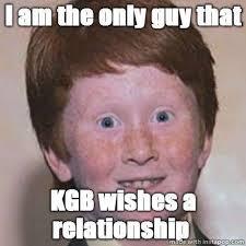 Over Confident Ginger Memes via Relatably.com