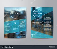 business brochure flyer design layout template stock vector business brochure flyer design layout template in a4 size blur background vector eps10