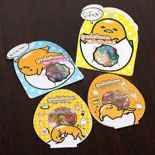 <b>60 PCS</b>/<b>Pack</b> Sanrio Gudetama Lazy Egg <b>Sealing</b> Stickers Diary ...