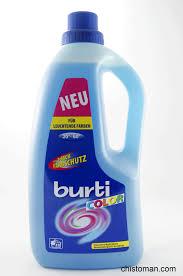 Жидкий <b>гель д/стирки BURTI</b> 1,5 л (цветное белье) Германия 1431