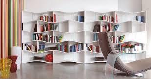 white wall bookshelves modern design living room furniture bookshelf furniture design