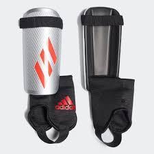 <b>adidas Футбольные щитки</b> X Youth - серебряный | <b>adidas</b> Россия