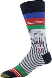 Gold Toe Men's Printed Novelty Graphic Fashion <b>Dress</b> Crew Socks ...